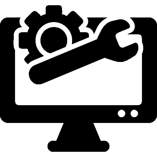 Wrench, Computer Screen, Cogwheel, Gear, Repair, Technology