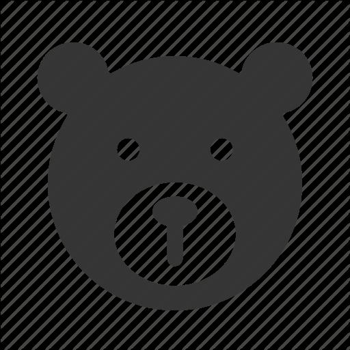 Doll, Head, Teddy Bear Icon