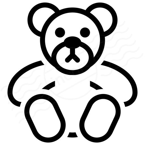 Iconexperience I Collection Teddy Bear Icon