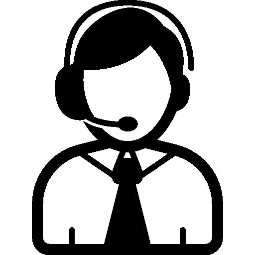 Telephone Operator Free Vector Icons Designed