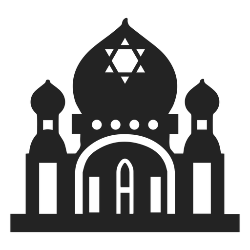 Jewish Temple Icon