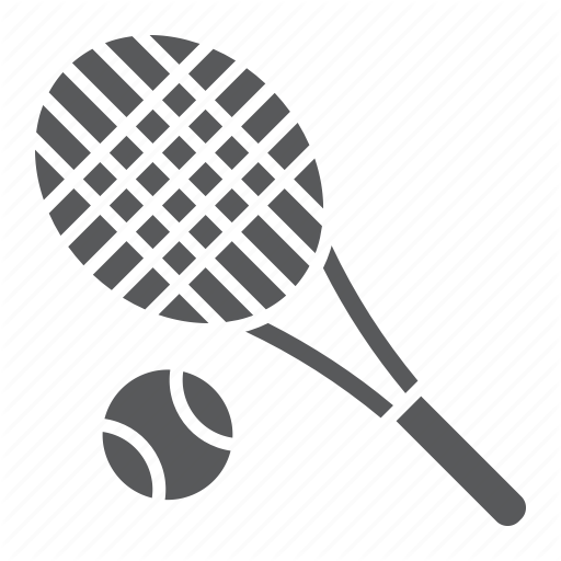 Ball, Fitness, Game, Play, Racket, Sport, Tennis Icon