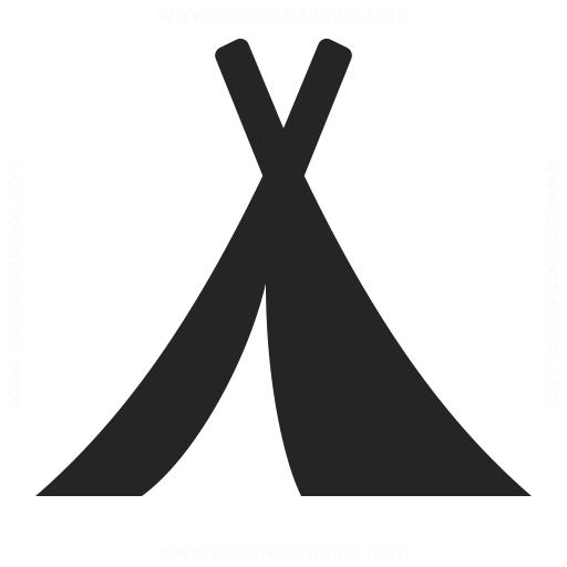 Tent Icon Iconexperience