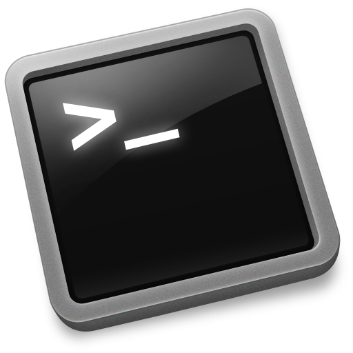 Terminal Icon Utilize Iconset Graphicpeel
