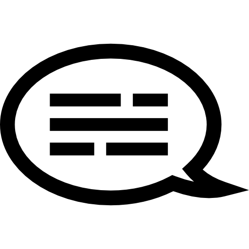 Text Bubble With Text Icons Free Download