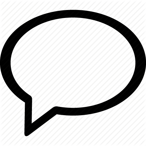 Bubble, Chat, Message, Text Icon