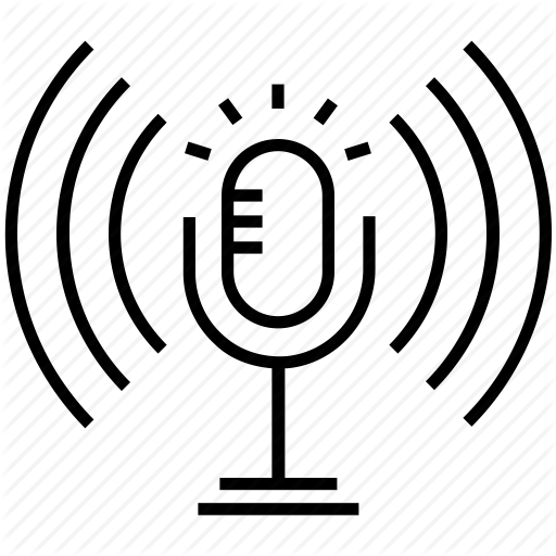 Media, Mic, Microphone, Podcast, Text To Speech Icon