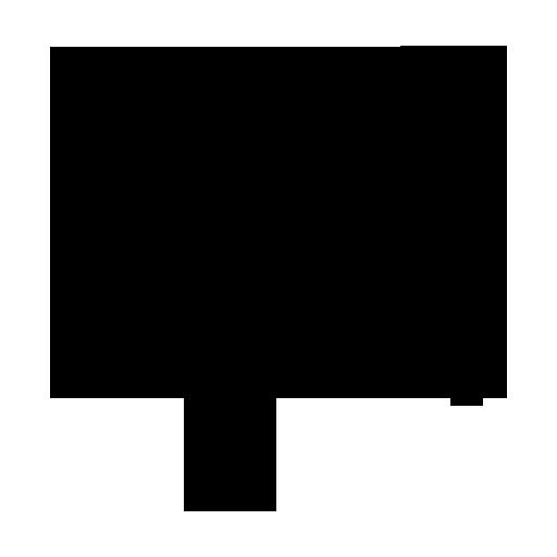 Black Ink Grunge Stamp Texture Icon Media