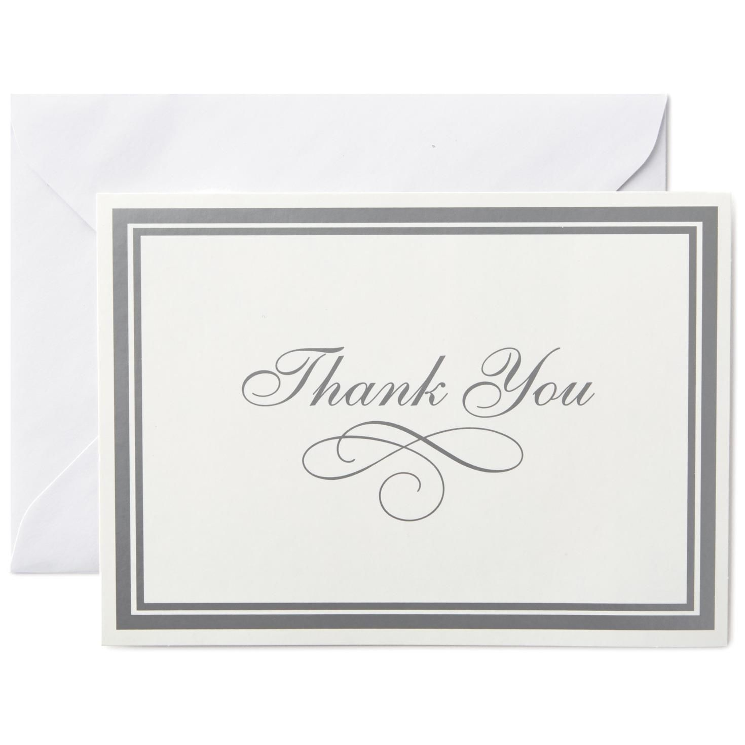 Thank You Cards And Bulk Thank You Notes Hallmark