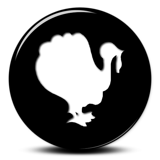 Thanksgiving Turkey Icon Images