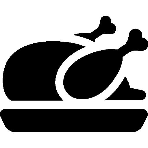 Roast Turkey Icons Free Download