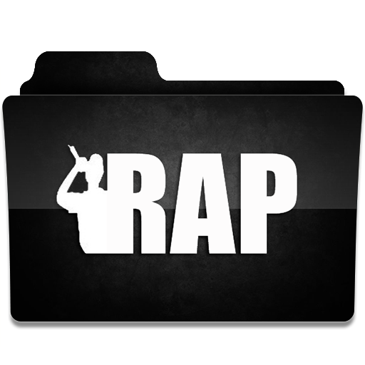 Rap Icon Music Folder Iconset Limav