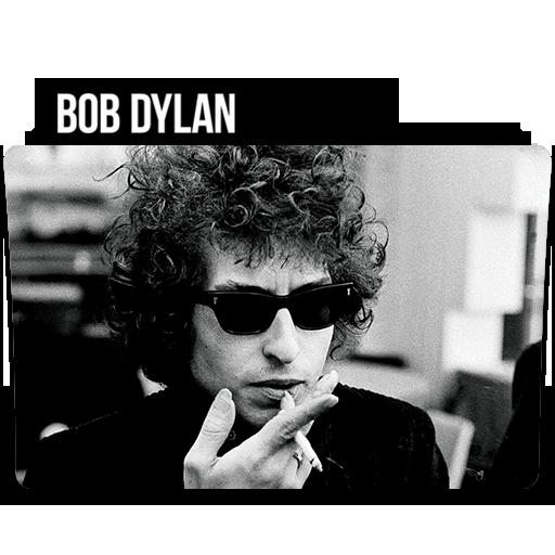 Bob Dylan Folder Icon