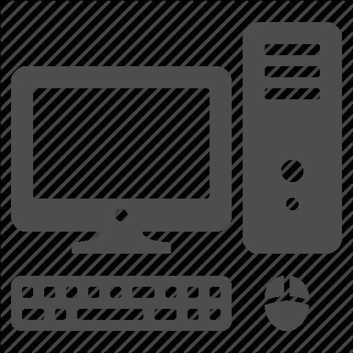 Computer, Computer Screen, Desktop, Keyboard, Monitor, Mouse, Pc Icon