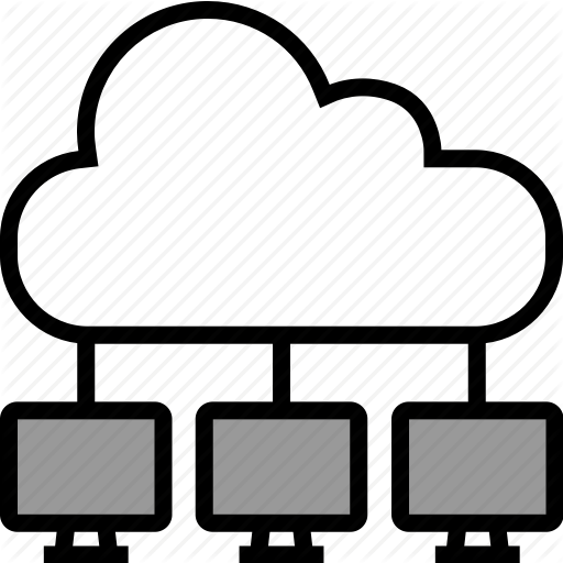 Cloud, Copy, Networking, Pc Icon