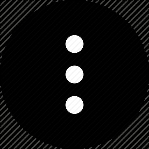 Dots, Menu, More, Options, Preferences, Three Icon
