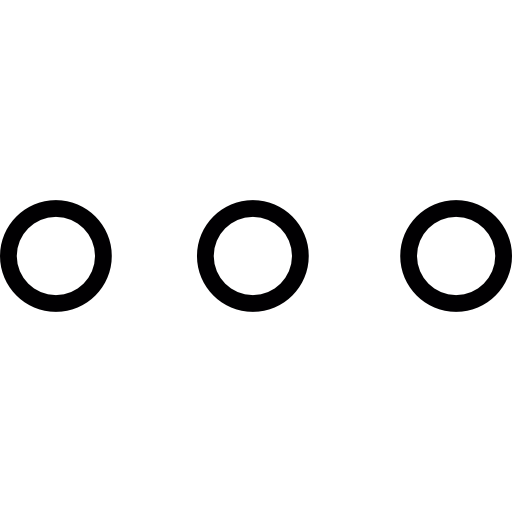 More, Three Dots, Ios Interface Symbol Icons Free Download