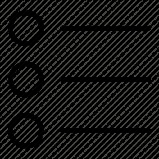 Horizontal, Interface, List, Menu, Options, Three Lines, Web Icon