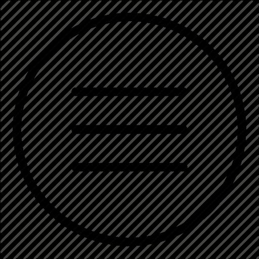 Horizontal, Interface, Lines, Menu, Options, Three Lines, Web Icon