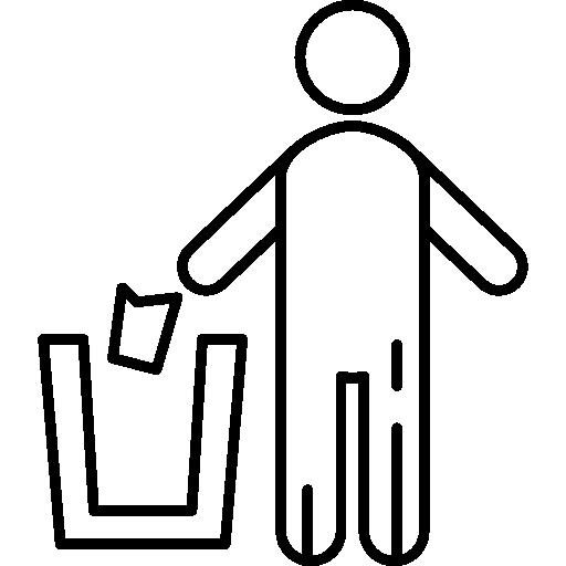 Throwing Trash Icons Free Download