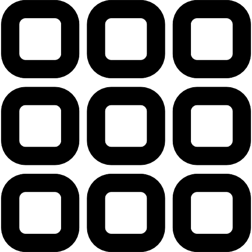 Nine Thumbnail Squares Button