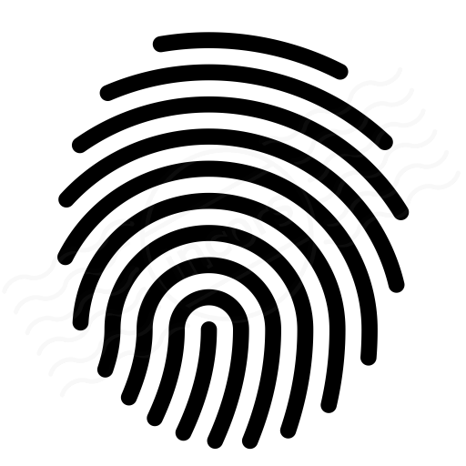 Pictures Of Fingerprint Icon Vector
