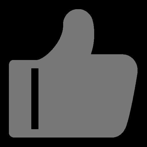 Thumb Vector Gray Transparent Png Clipart Free Download