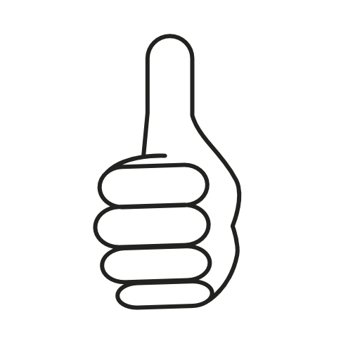Thumbs Up Sign Icon Free Icons Download