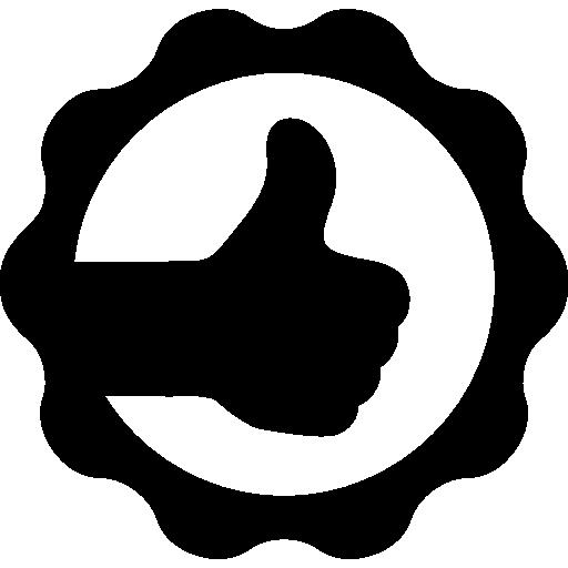 Thumb Up In A Circle