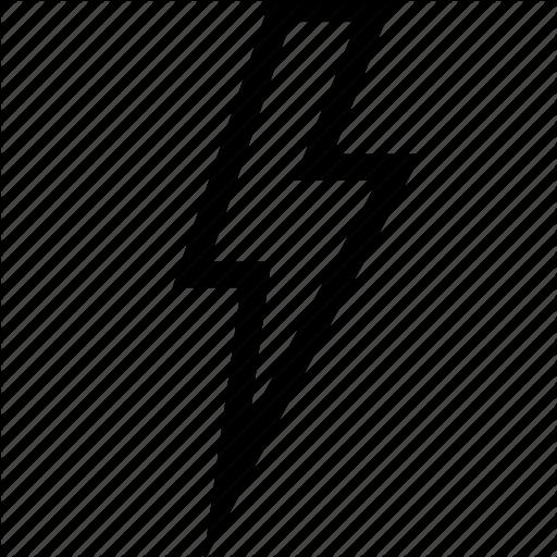 Lightning, Thunderbolt Icon