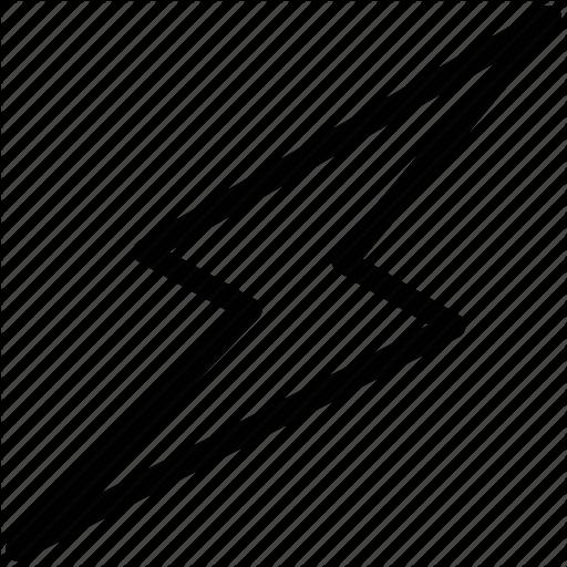 Thunder Black And White Logo Png Images