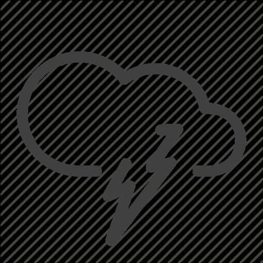 Climate, Lightning, Night, Scattered Thunderstorm, Severe