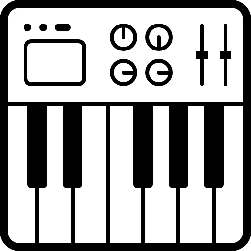 Synthesizer Icons Free Download