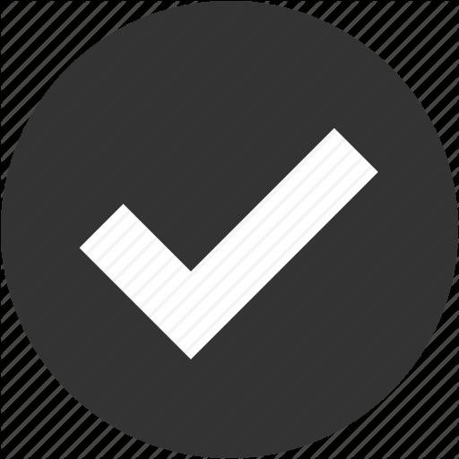 Check, Circle, Done, Ok, Right, Success, Tick Icon