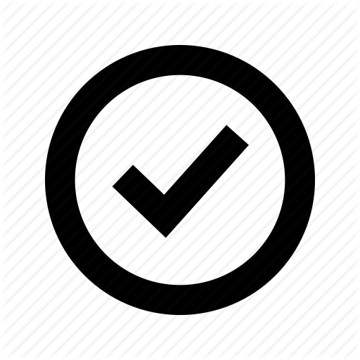 Check, Circle, Tick Icon