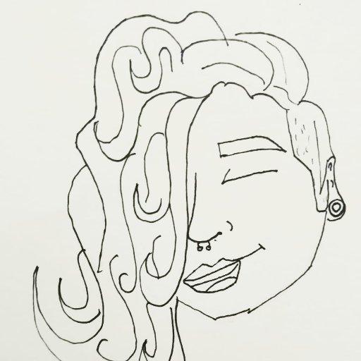Queen Bitch Drawings