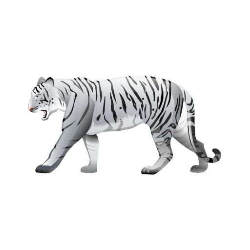 White Tiger Icons Download Free Icons