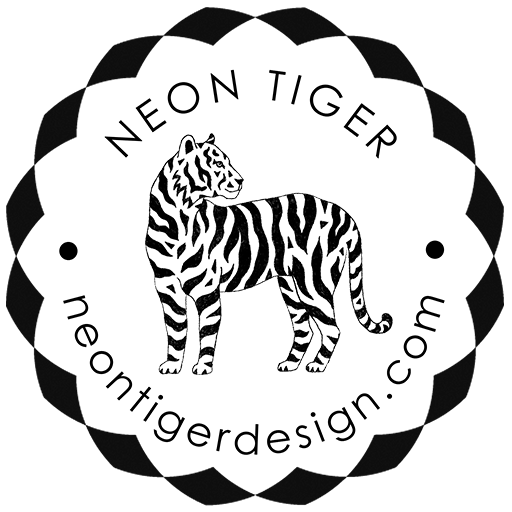 Cropped Fav Icon Neon Tiger Design Neon Tiger