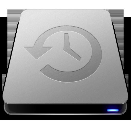 Time Machine Drive Icon Slick Drives Iconset Thvg