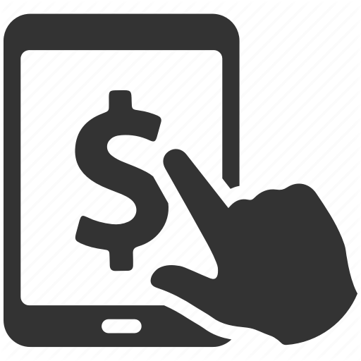 Banking, Dollar, Earnings, Finance, Ipad, Money, Tablet Icon