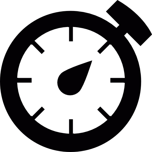 Clock, Chronometer, Timer Icon