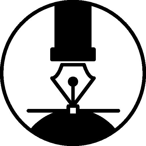 Pen Tip, Calligraphy Pen, Art, Fountain Pen, Pen, Calligraphy Icon
