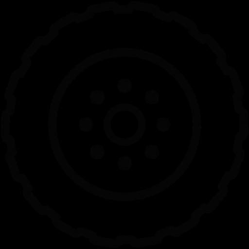 Download Wheel,auto,car,tire,vehicle Icon Inventicons