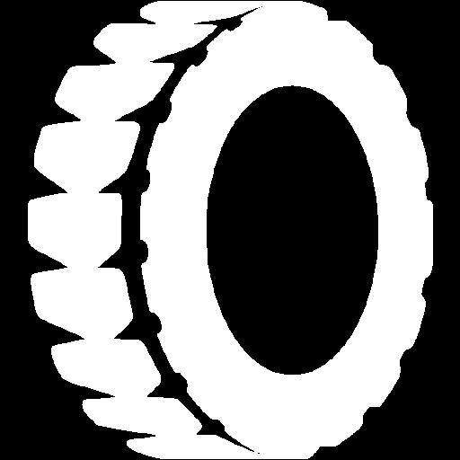 White Tire Icon