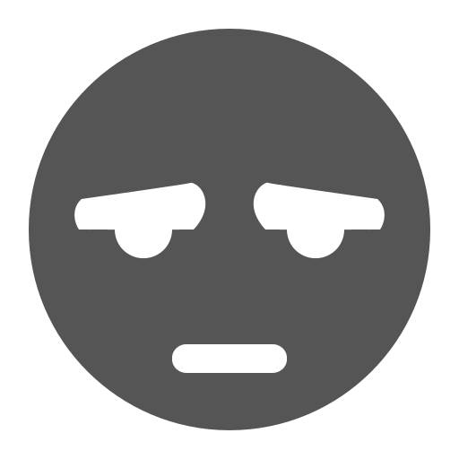 Face, Tired Icon Free Of Super Flat Remix Emotes