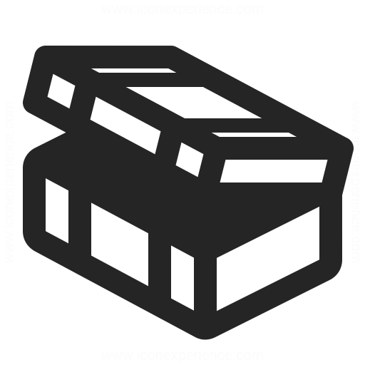 Ammunition Box Open Icon Iconexperience