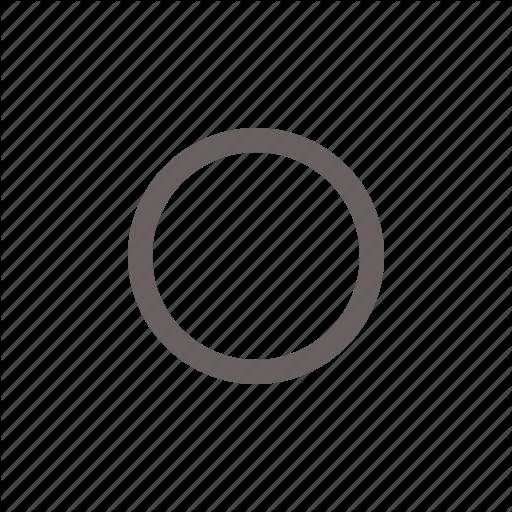 Button, Circle, Off, Radio, Round, Toggle Icon