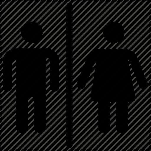 Female Toilet, Male Toilet, Restroom Sign, Restroom Symbol, Toilet