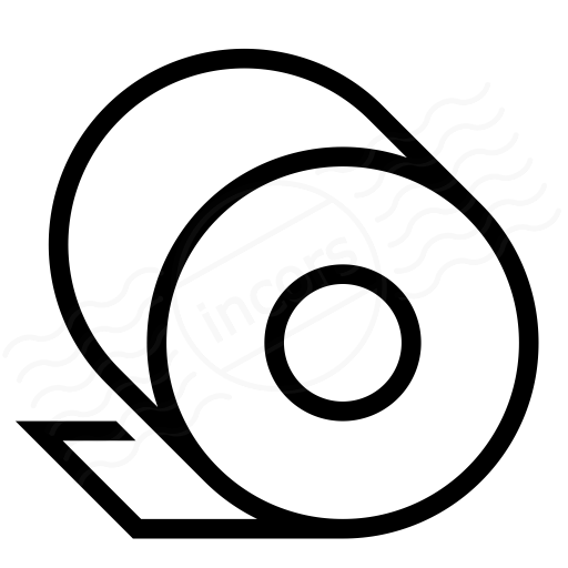 Iconexperience I Collection Toilet Paper Icon