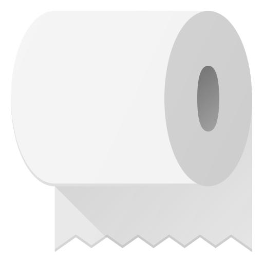 Holyday, Halloween, Trick, Treat, Toilet, Paper Icon Free